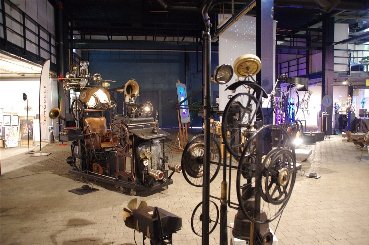 12ème Salon d\'art contemporain in Montreux – LowTech Instruments Museum