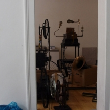 Montag Morgen - Aufbau | 2014 | LowTech Instruments Museum
